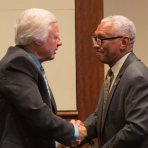 Major General Charles Bolden and Dr. Clay Warren