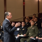 ADM Mullen addressing the responsibility he faced as Chairman of the Joint Chiefs of Staff